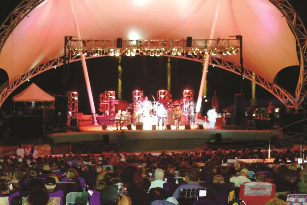 Outdoor Amphitheater Concert Venue