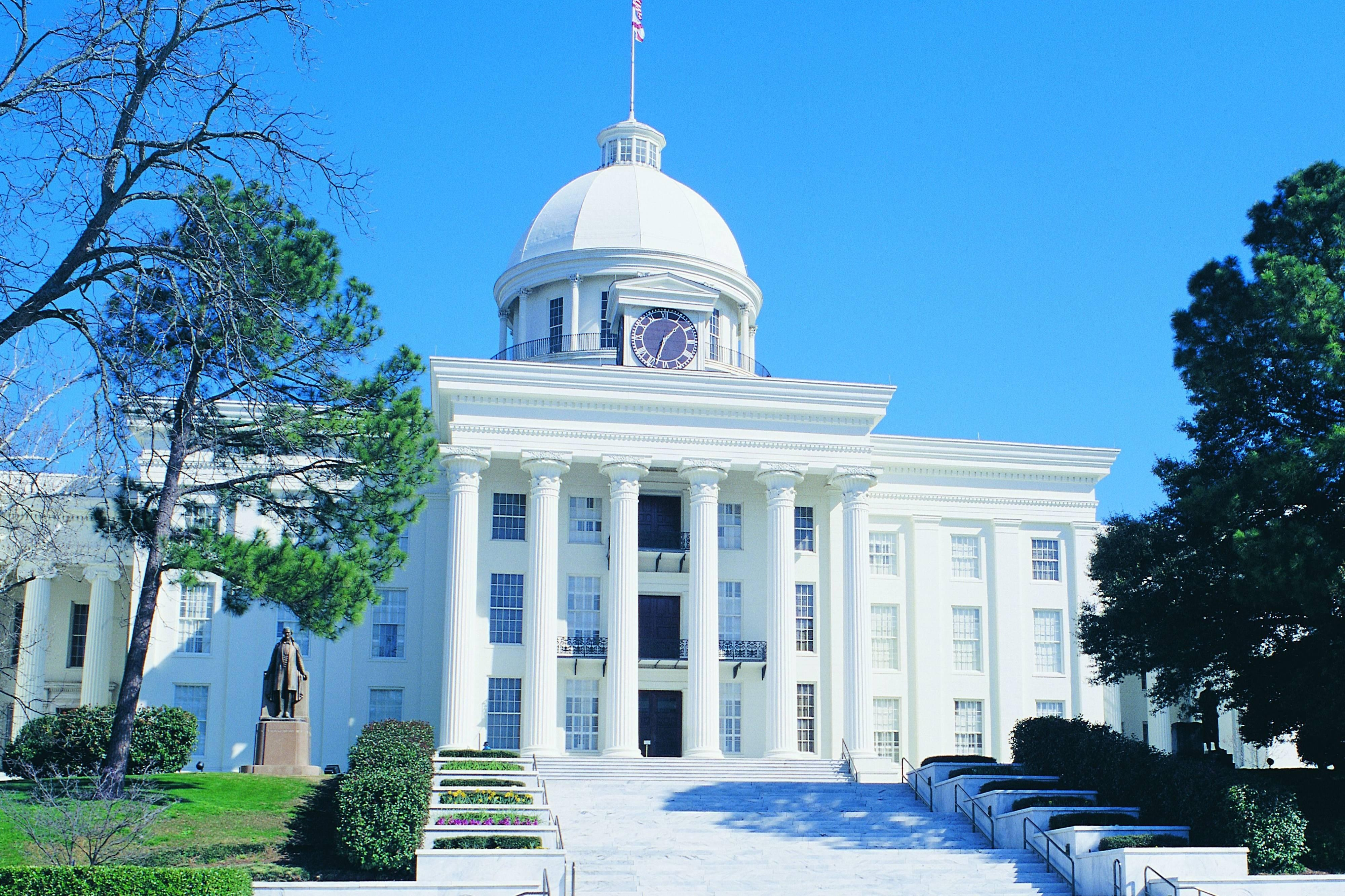 Capitol building of Alabama