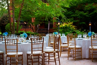 Outdoor wedding venues in Montgomery