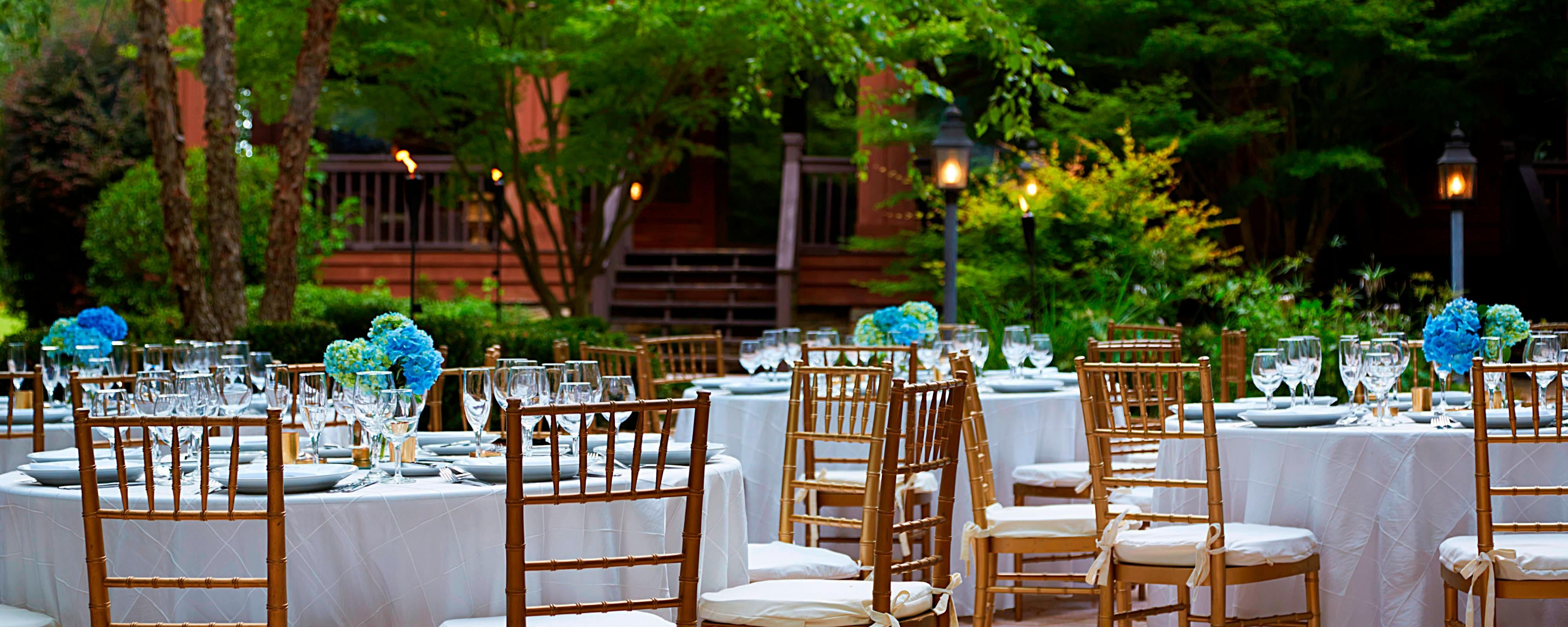 Outdoor wedding venues in Montgomery