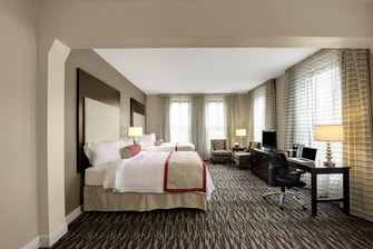 Keene Downtown Hotel Guest Room
