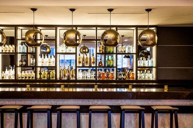 Modern Lounge Bar Miami Beach