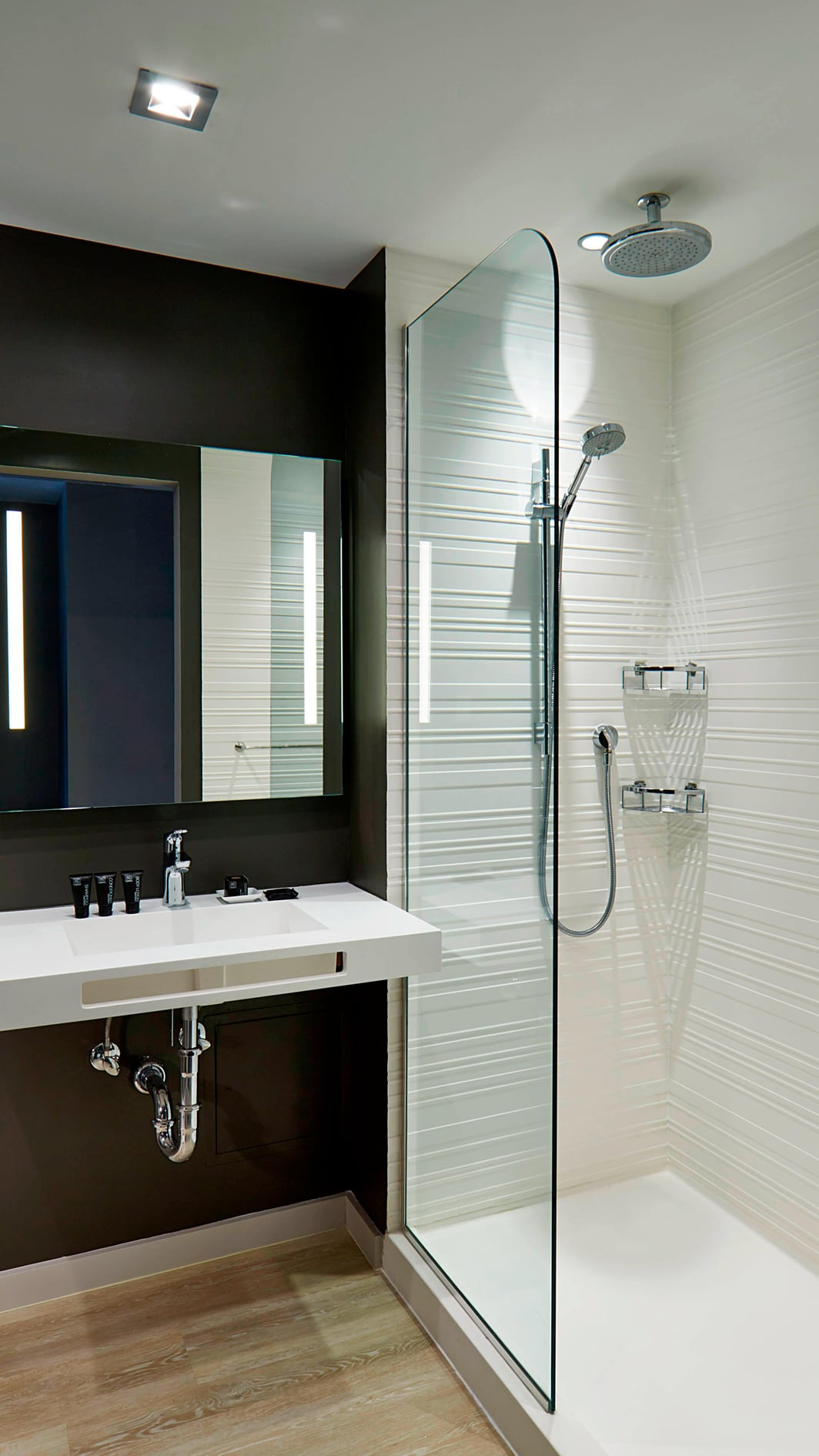 Modern Miami Beach Hotel Bathroom