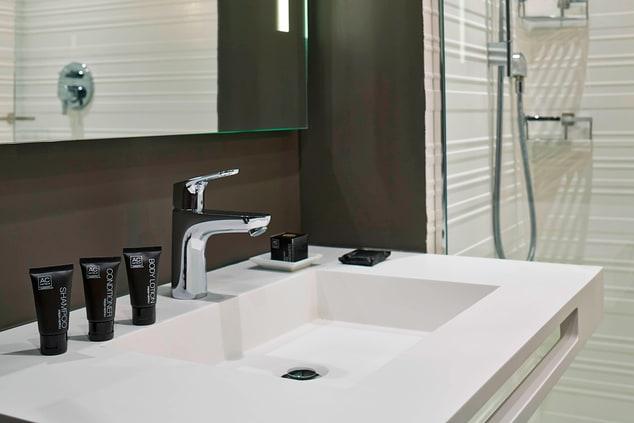 Modern Miami Beach Hotel Bathroom