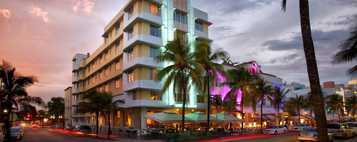 Ocean Drive Hotel Exterior Winter Haven