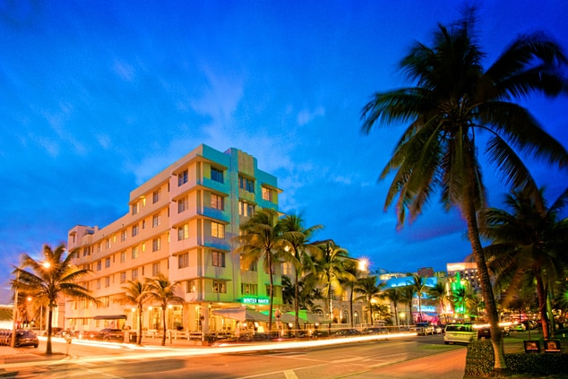 South Beach hotel exterior
