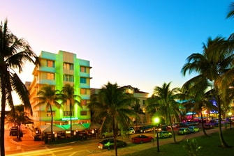 Miami Beach Oceanfront hotel exterior