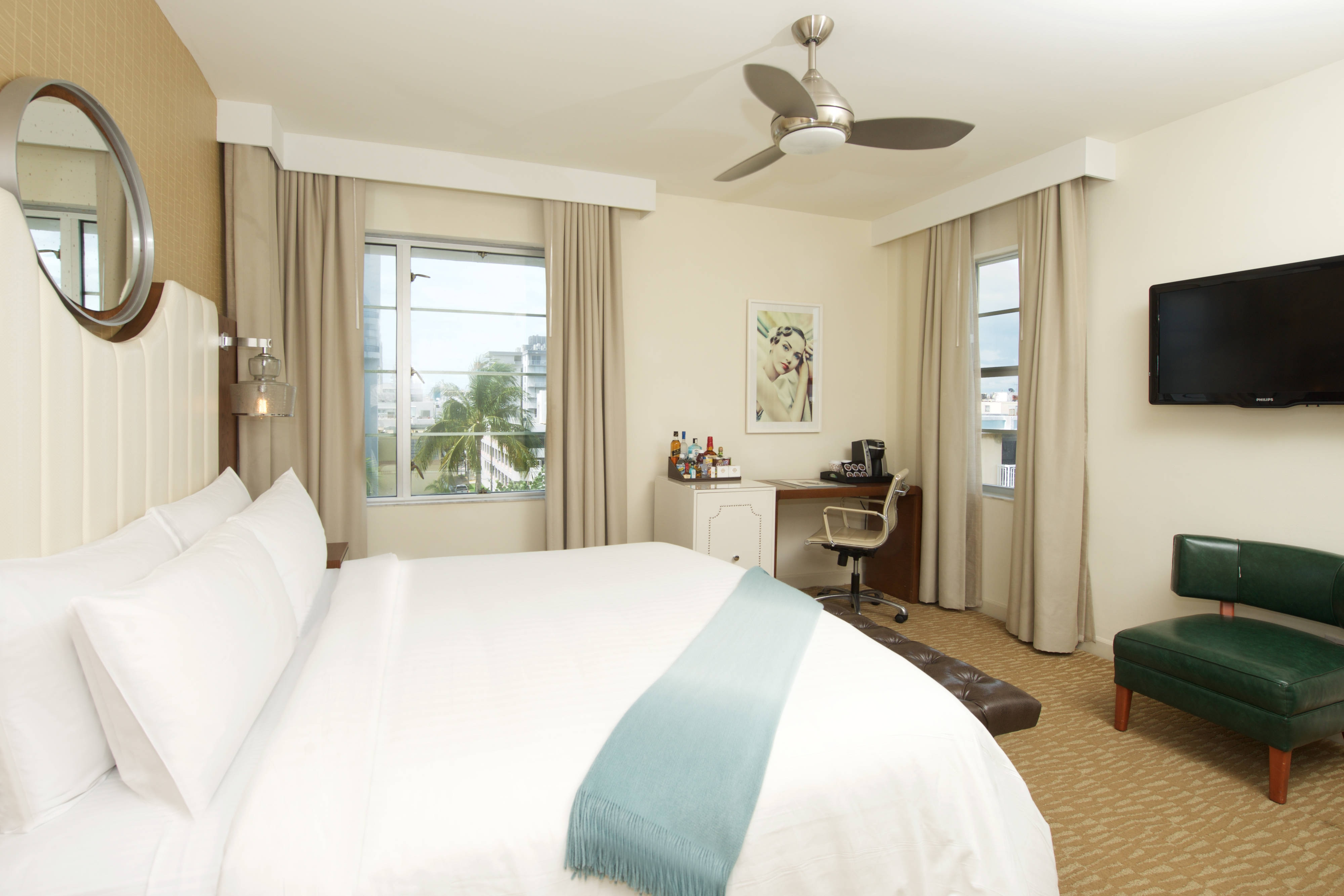 South Beach oceanfront king room