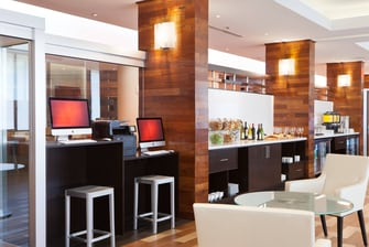 M Club Lounge – Work Area
