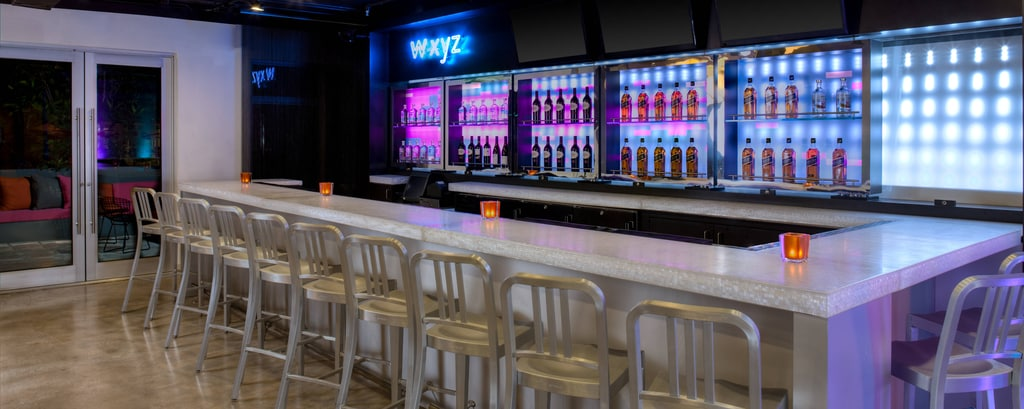W Xyz Bar Aloft Miami Brickell