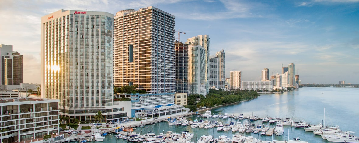 Downtown Miami, Florida Hotel Near Port | Miami Marriott