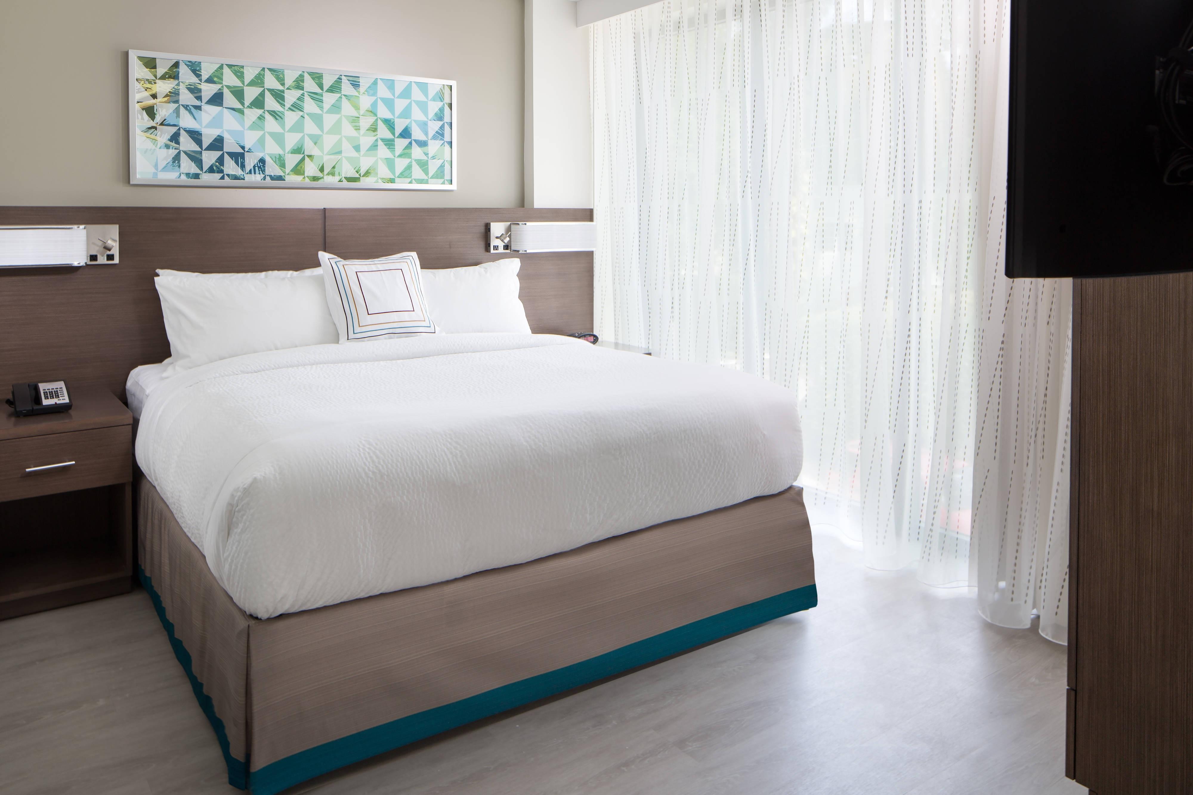 Suite à une chambre avec lit king size