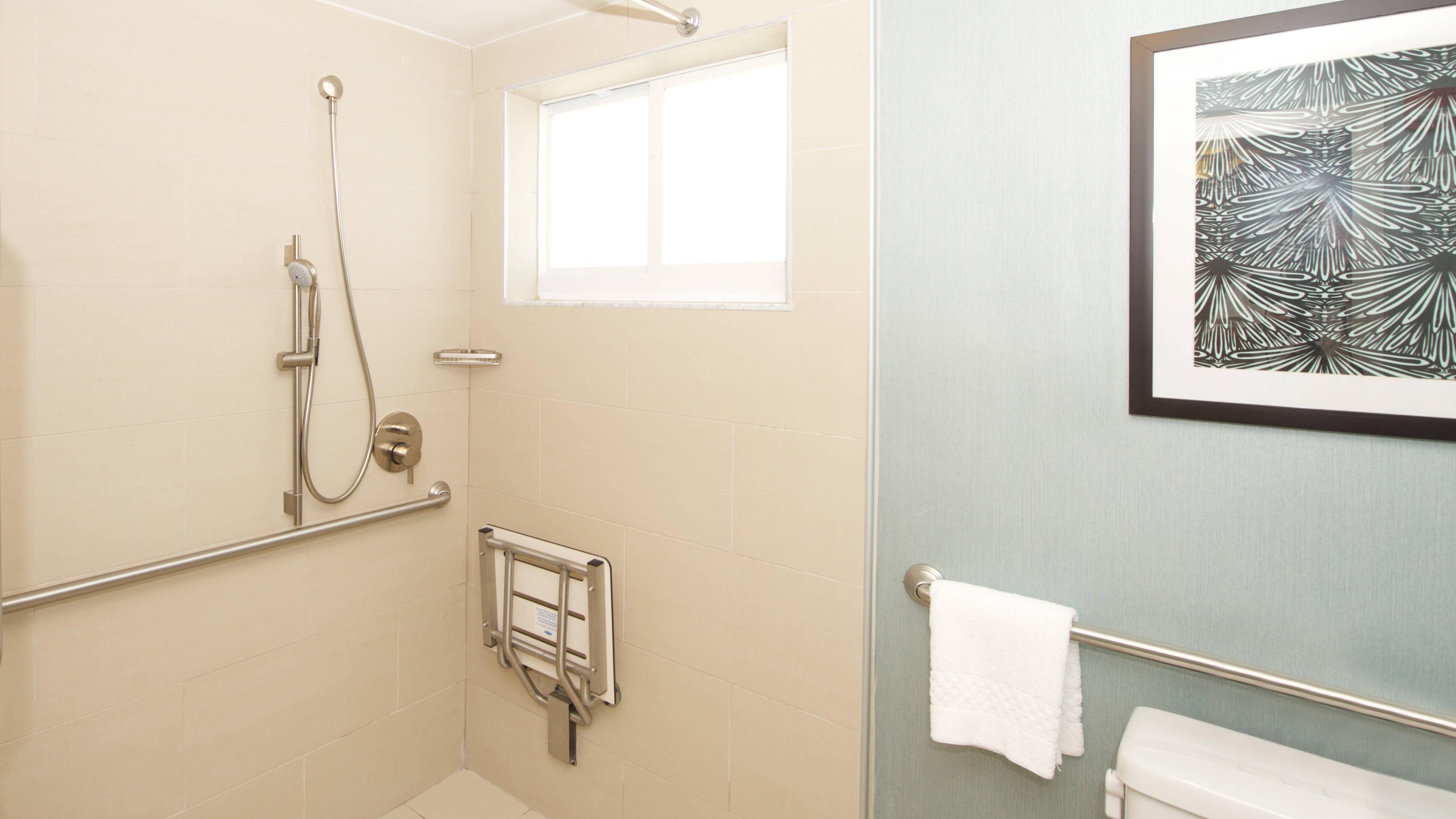 Coconut Grove Hotel ADA Bathroom