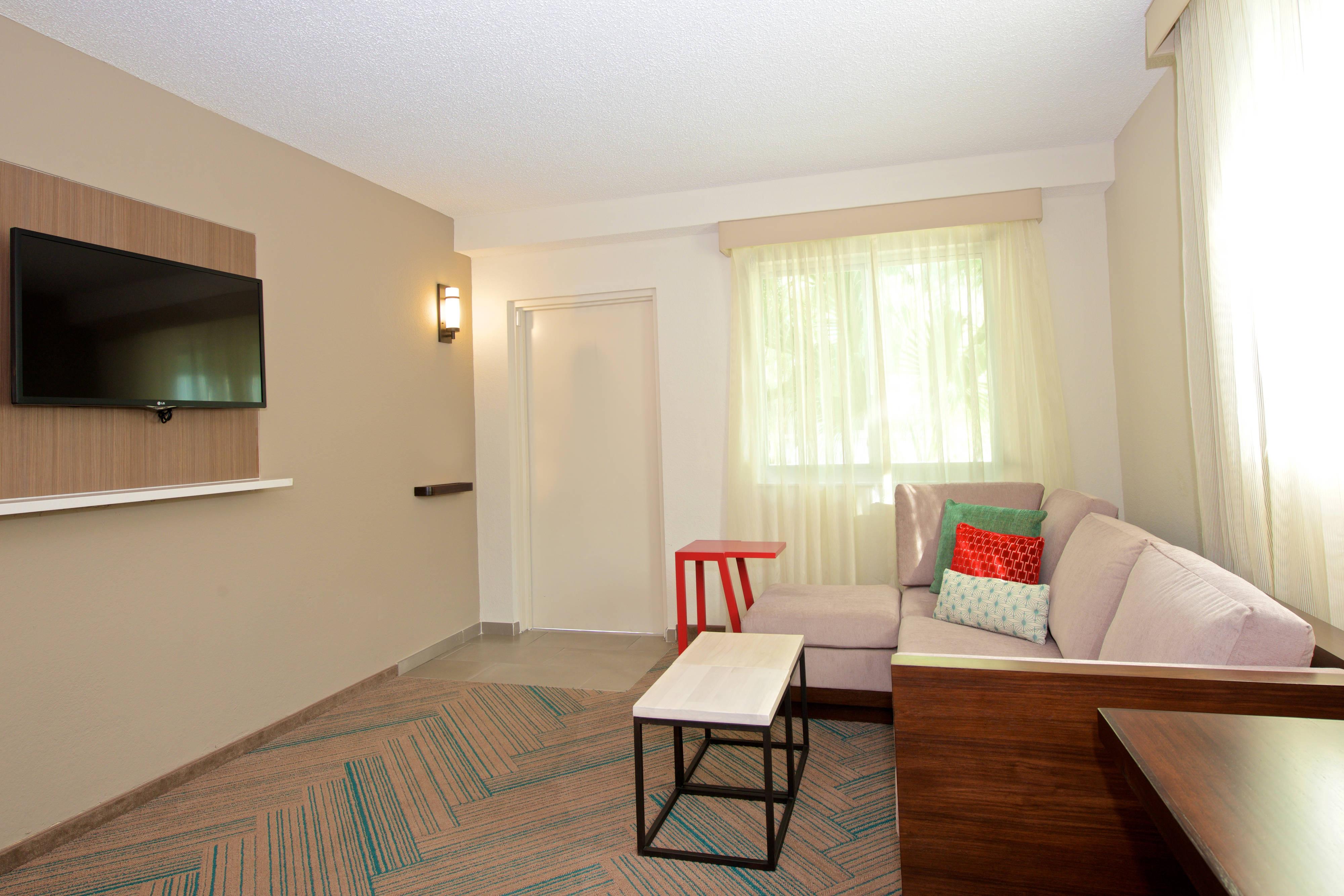 Suite à une chambre–espace salon