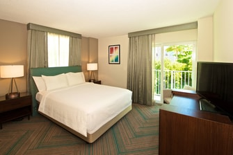 Miami Coconut Grove Hotel Suite