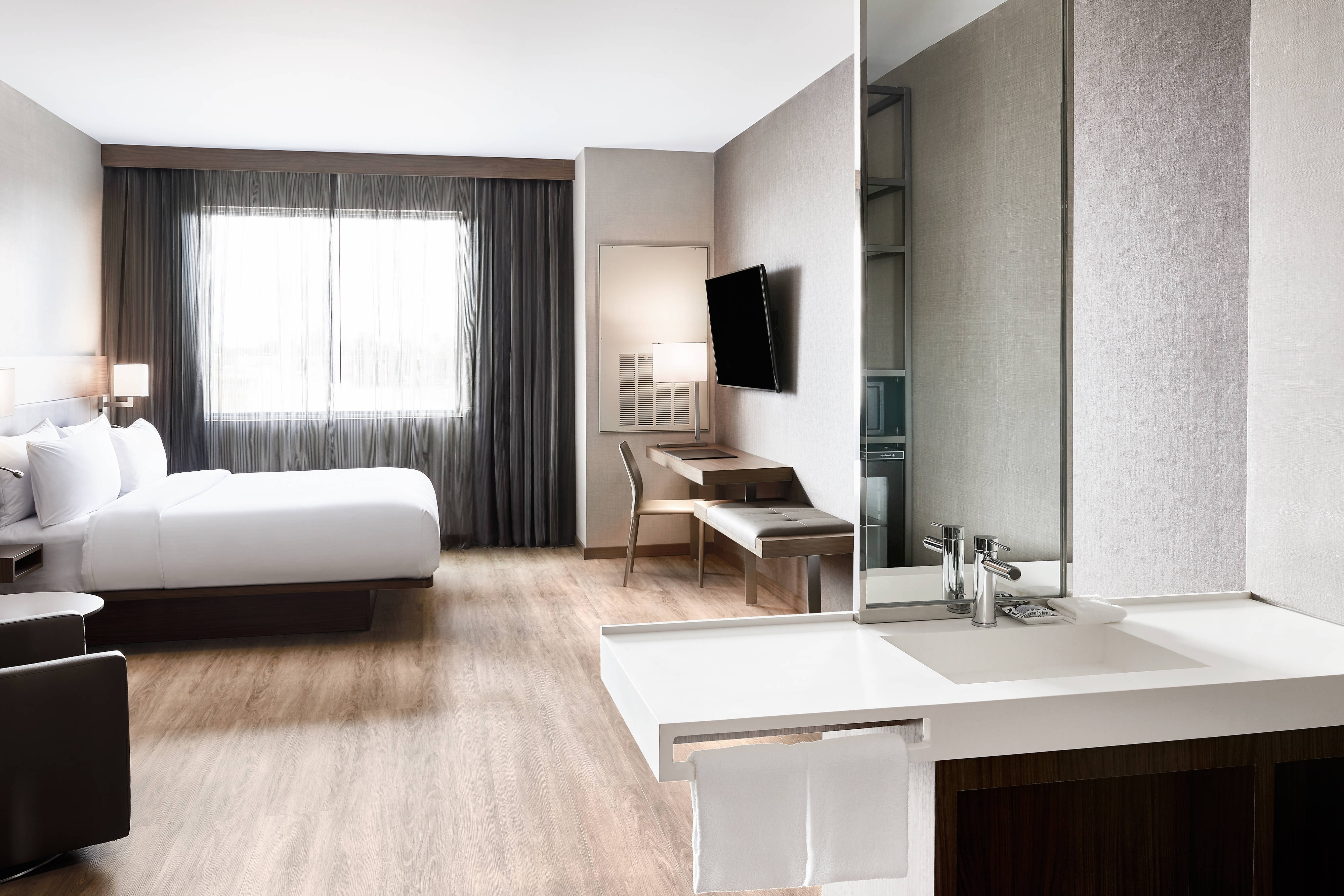 Habitación European con cama tamaño King