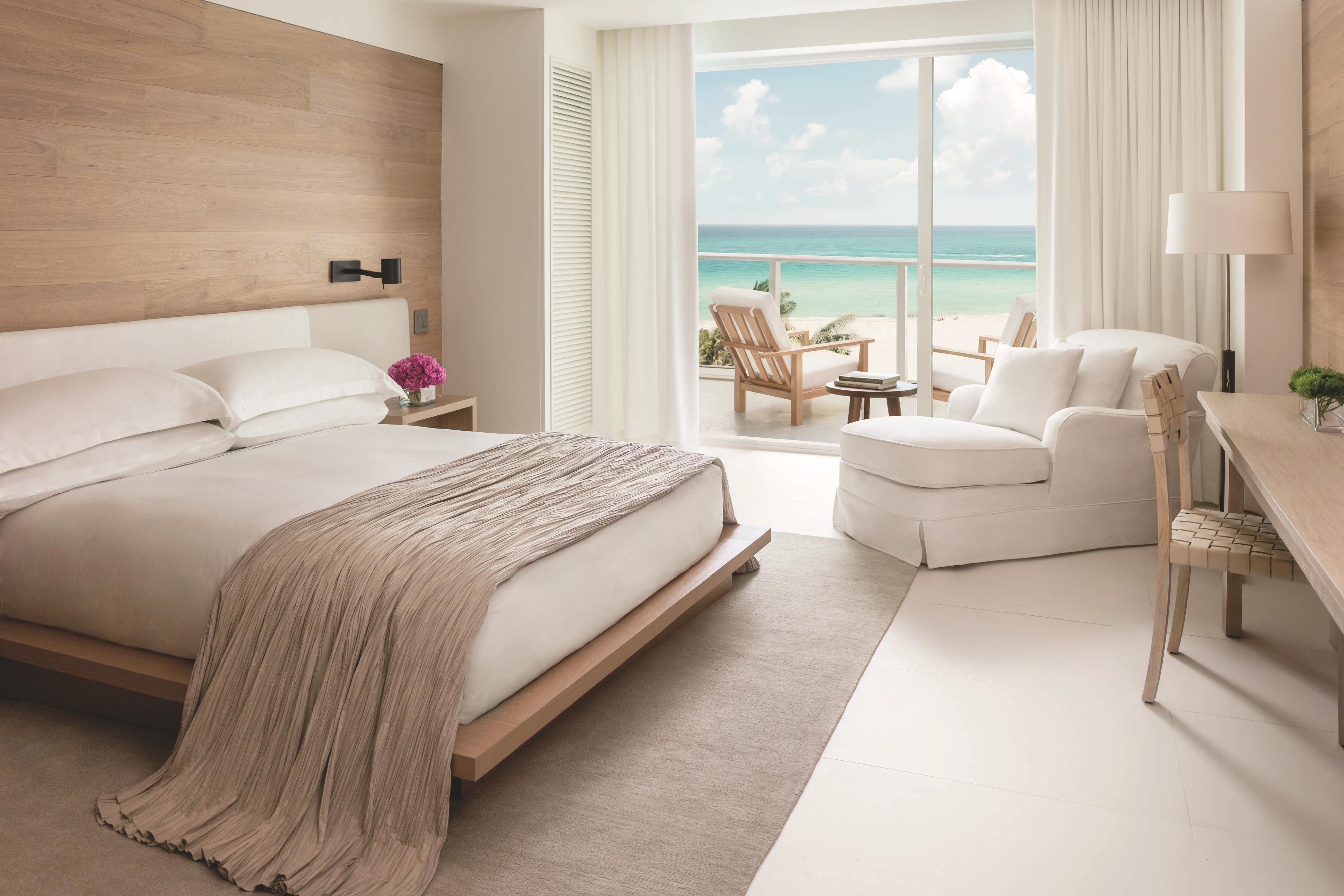 Hotelzimmer am Meer in Miami Beach