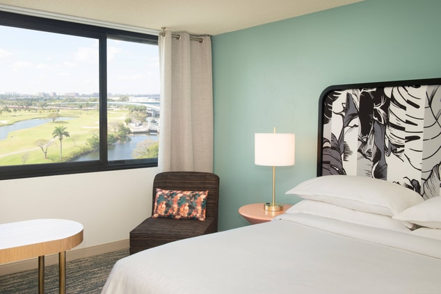 King Delue Guest Room - West Golf View