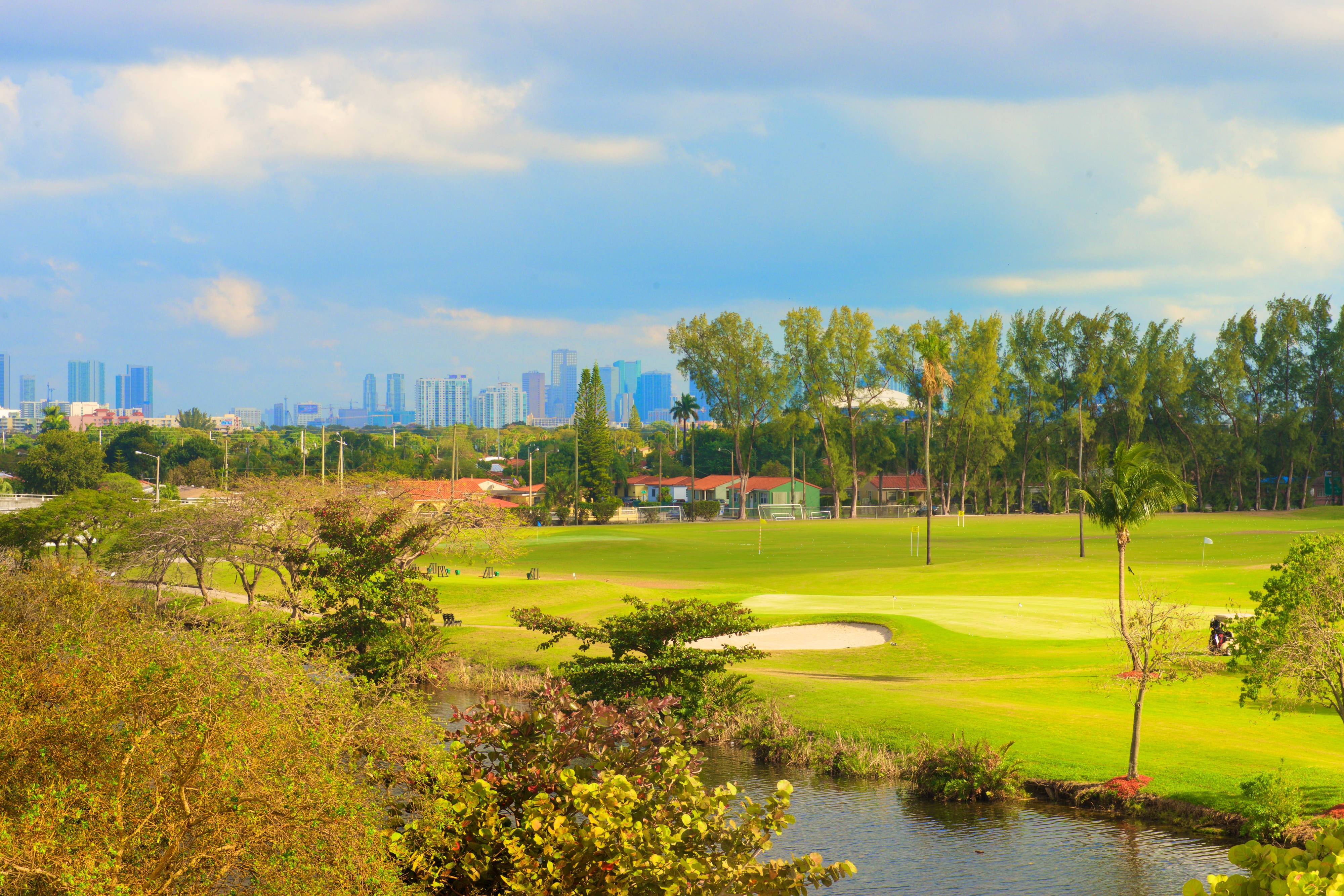 Melreese Golf and DowntownSkyline