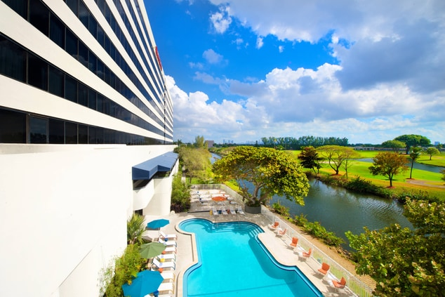 OverlooKing Pool Deck and Golf Course