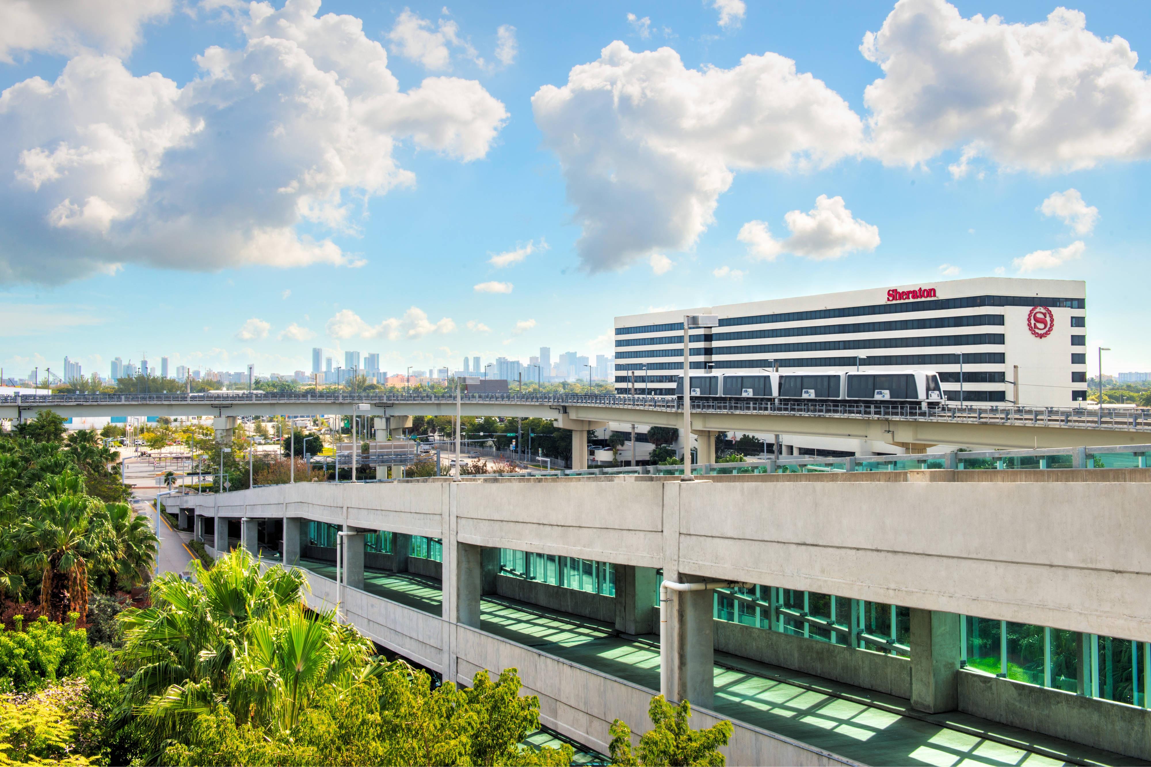 Intermodal Center View to Exterior