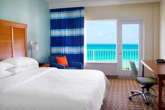 Ocean front King Guest Room