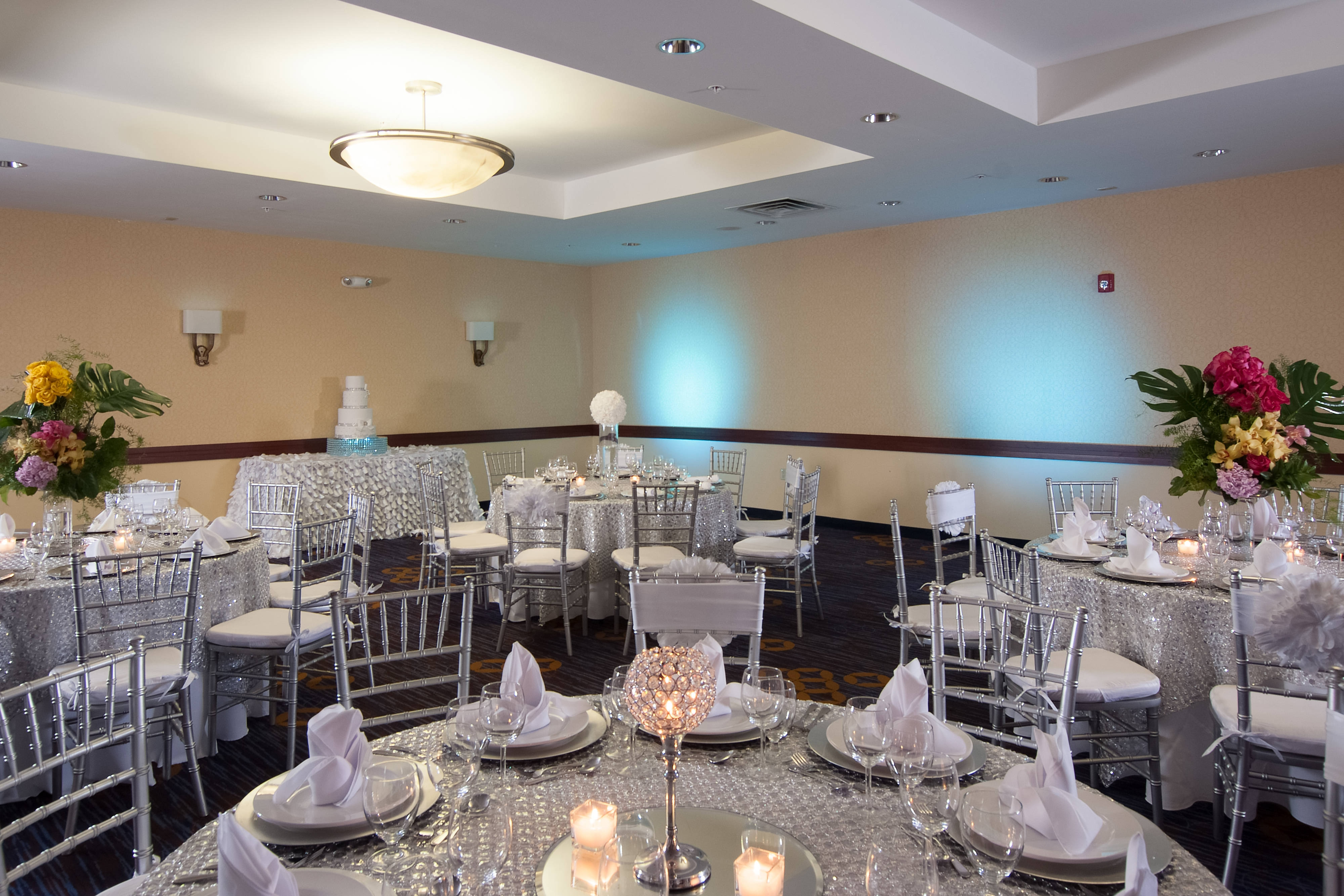 Wedding and Reception Setup Example