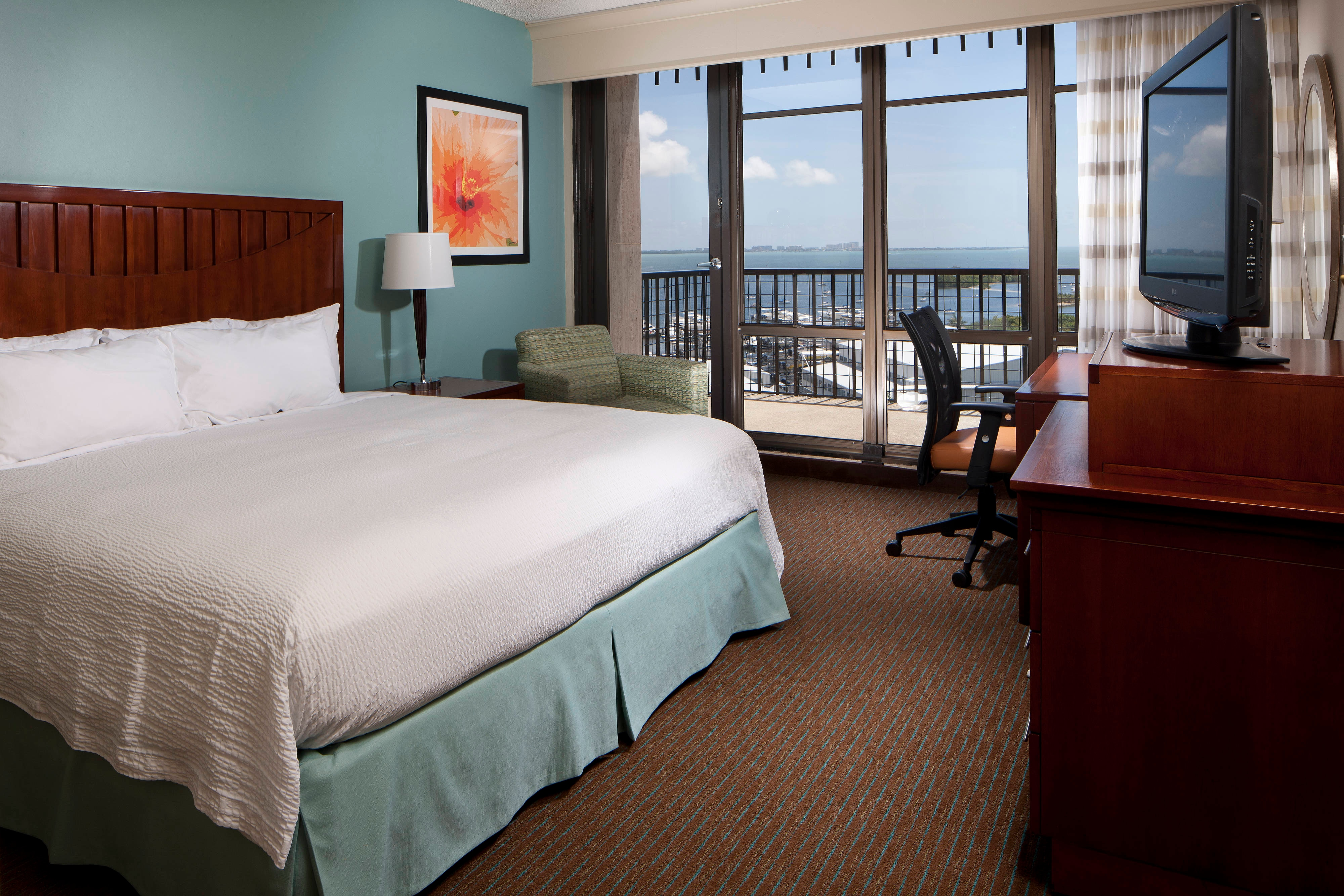 Bay View King Guest Room