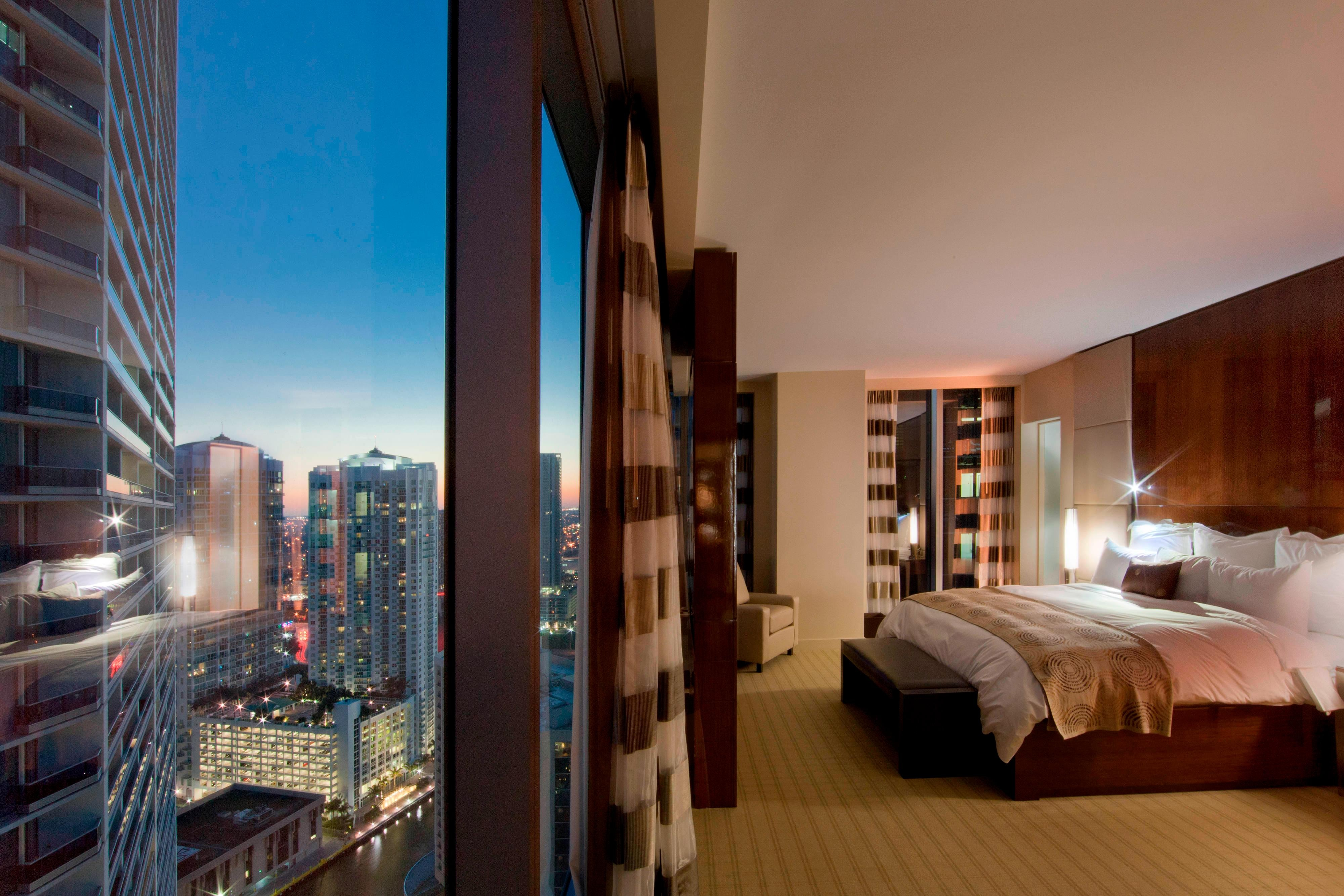 miami hotel rooms, downtown