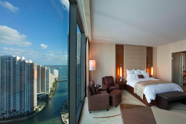bay view room, downtown miami