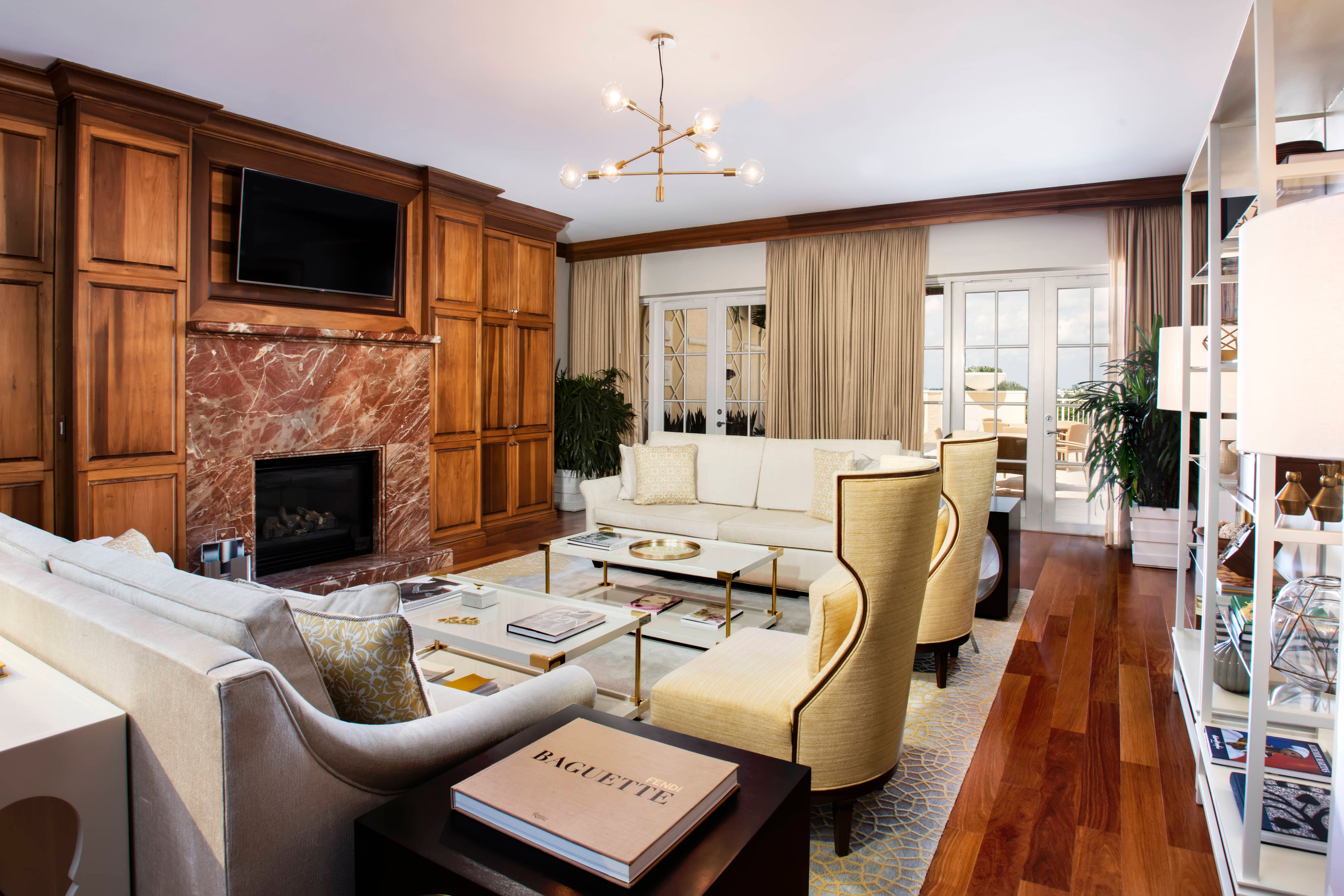 Grand Presidential Suite Living Room
