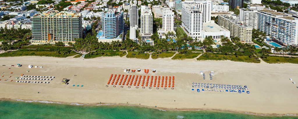 Resort de frente para o mar em South Beach