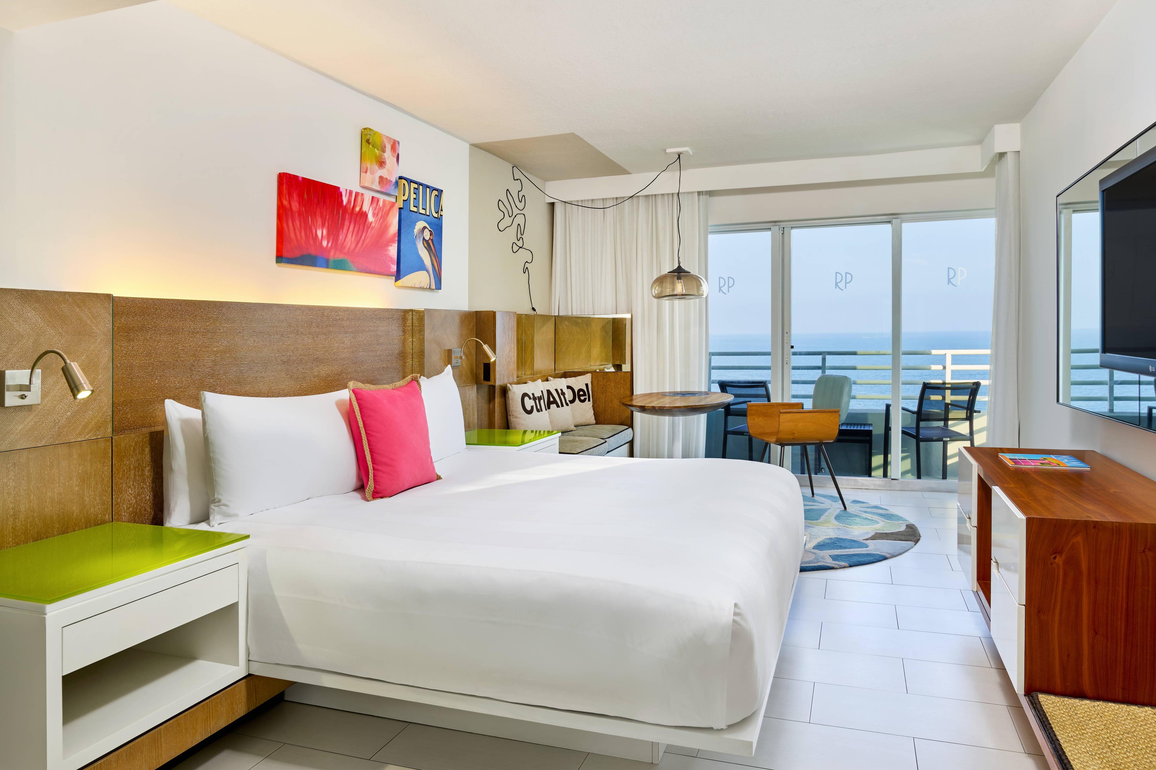 Номер с кроватью King Size и с видом на океан