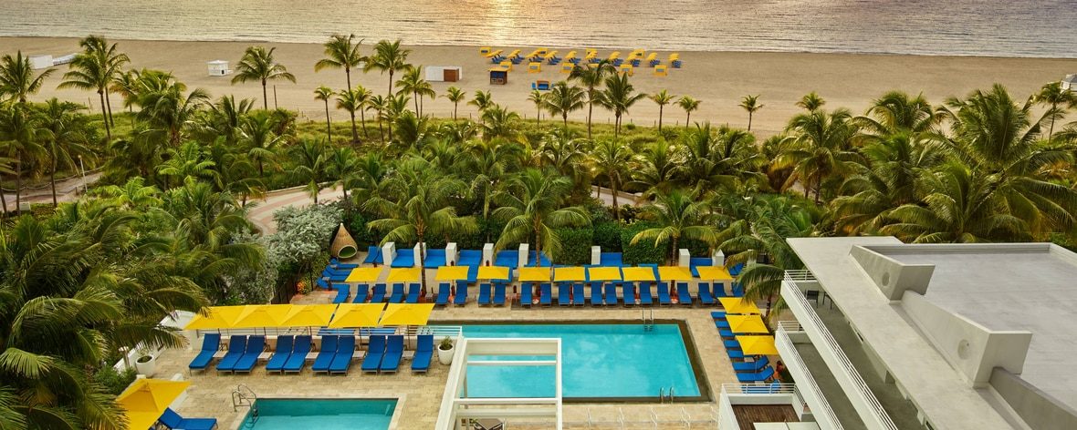 Royal Palm piscine et plage