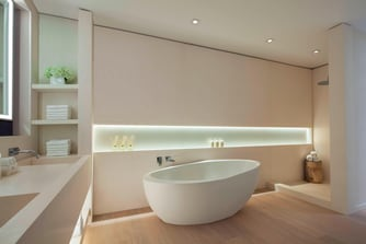 Renovated Penthouse Master Bathroom