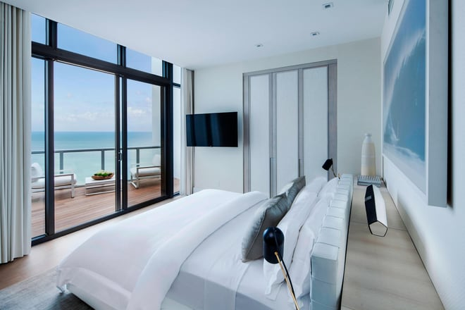 Renovated Penthouse Bedroom