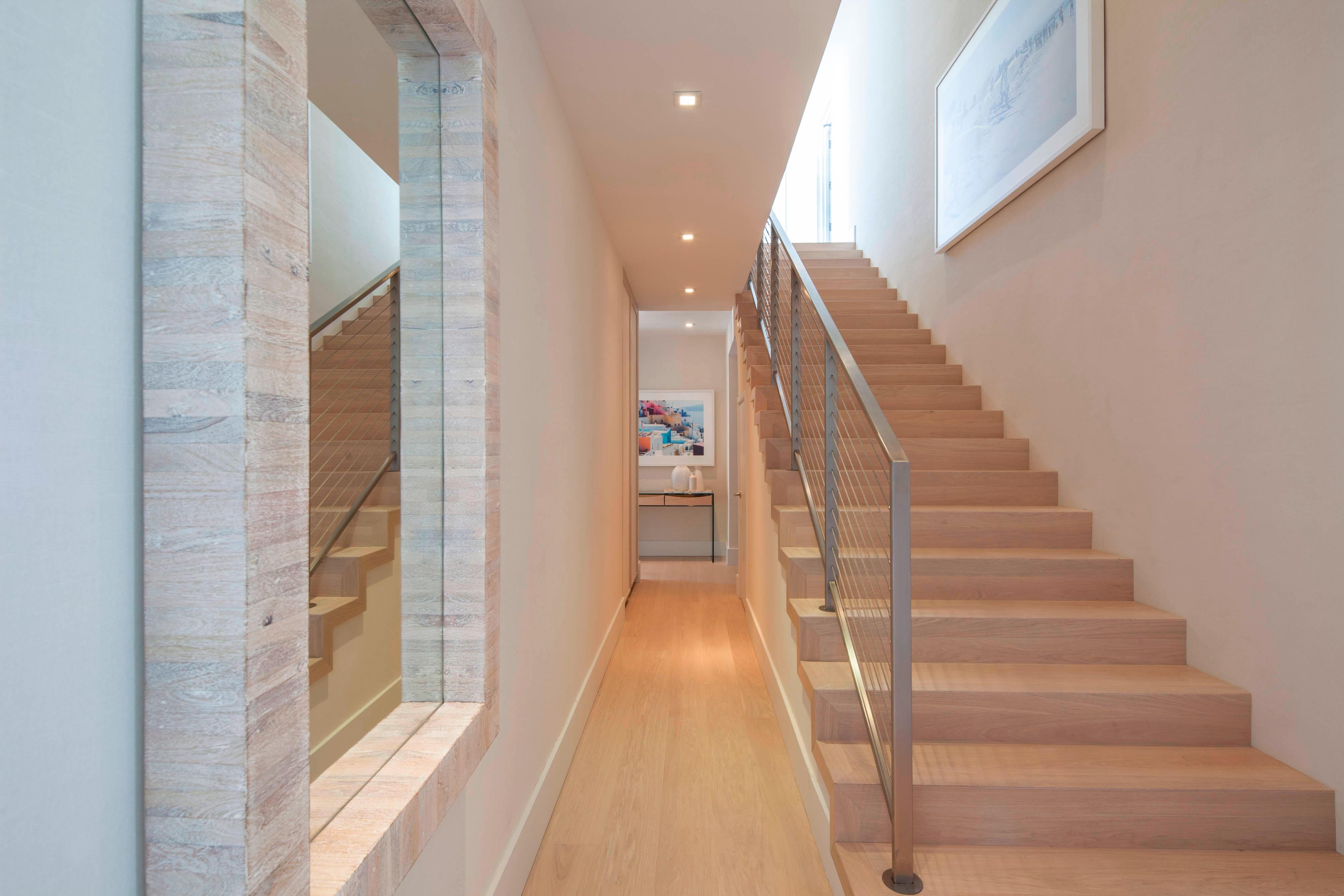 Renovated Penthouse Stairway