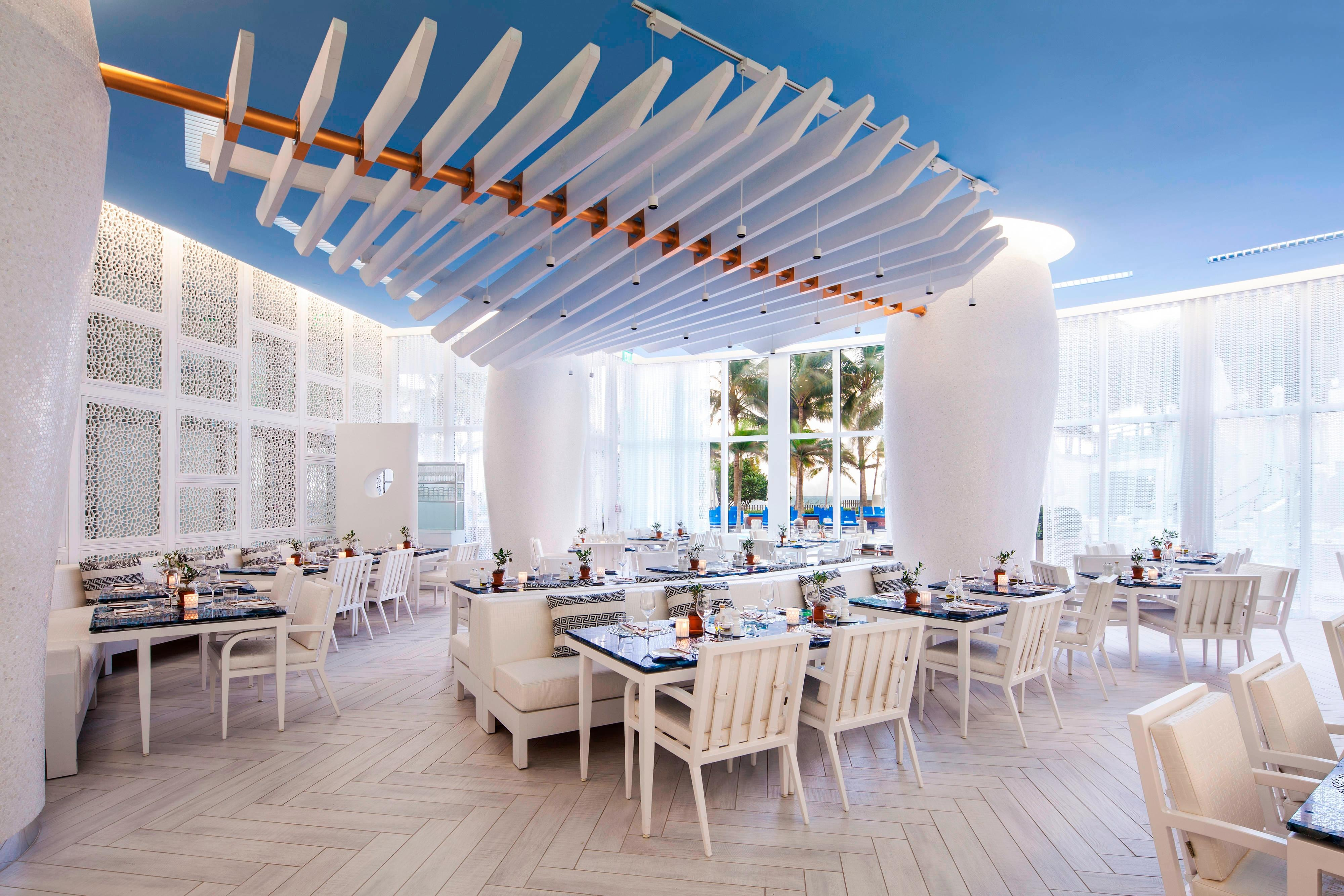 Bal Harbour Dining Restaurants In Miami The St Regis