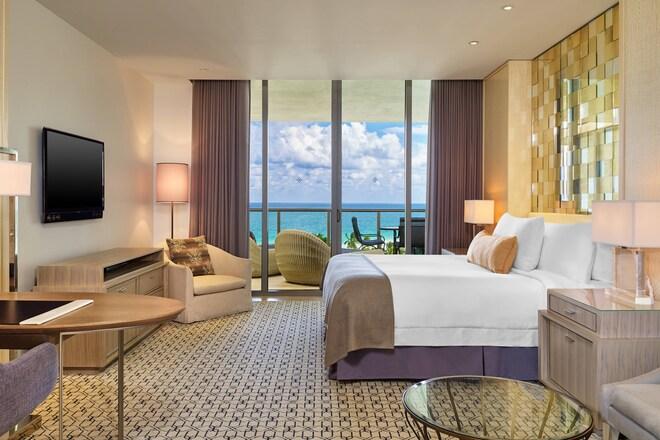 Deluxe Ocean View Bedroom