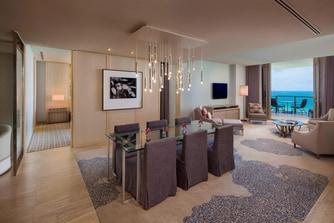 Atlantic Oceanfront Suite - Living/Dining Room