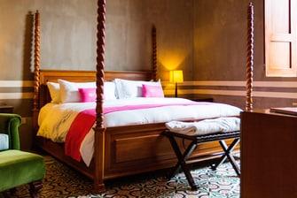Dormitorio de la Master Suite Rosas Xocolate