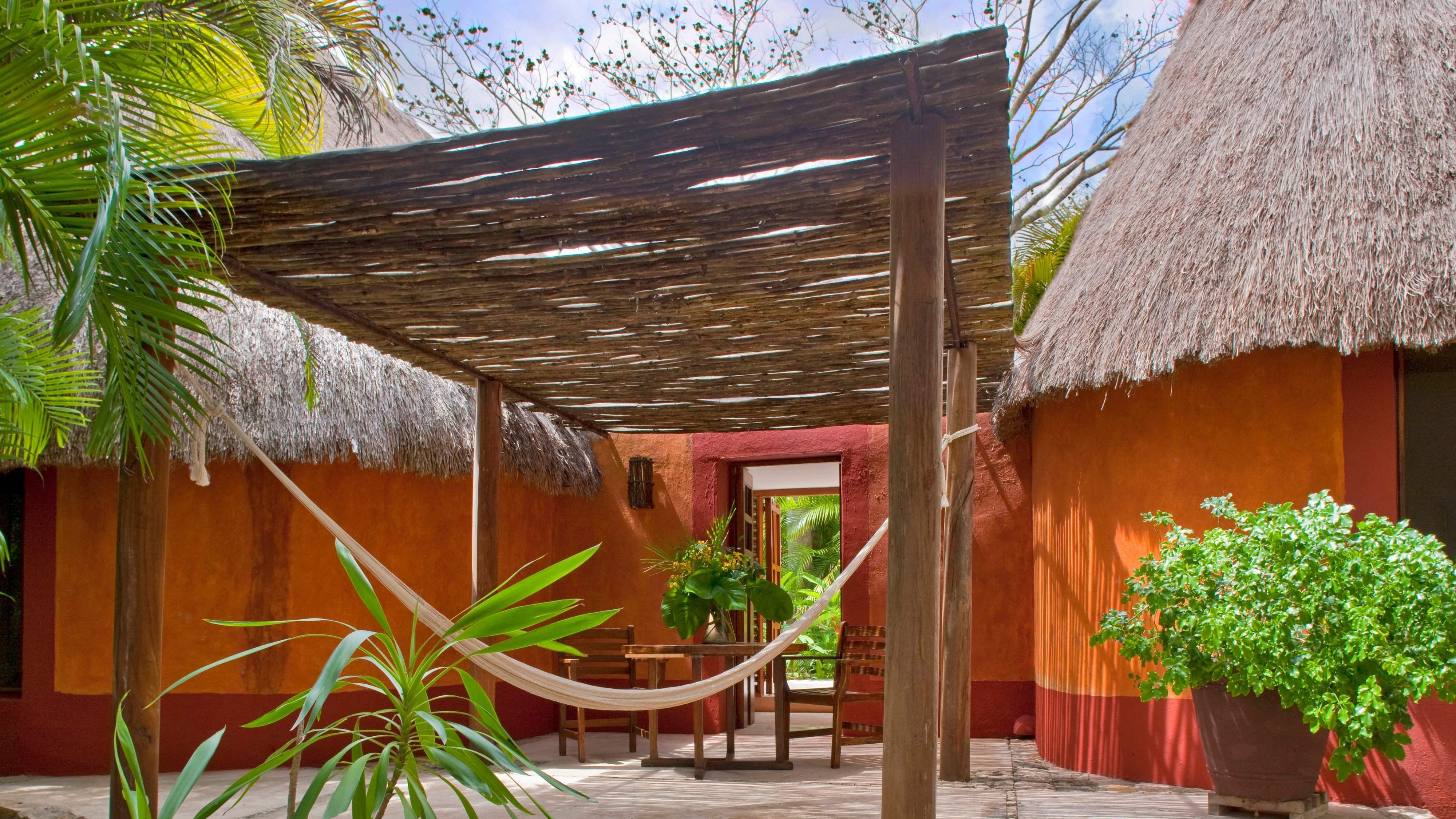 Terraza de la Villa Maya