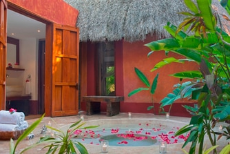 Plunge Pool at Mayan Villa