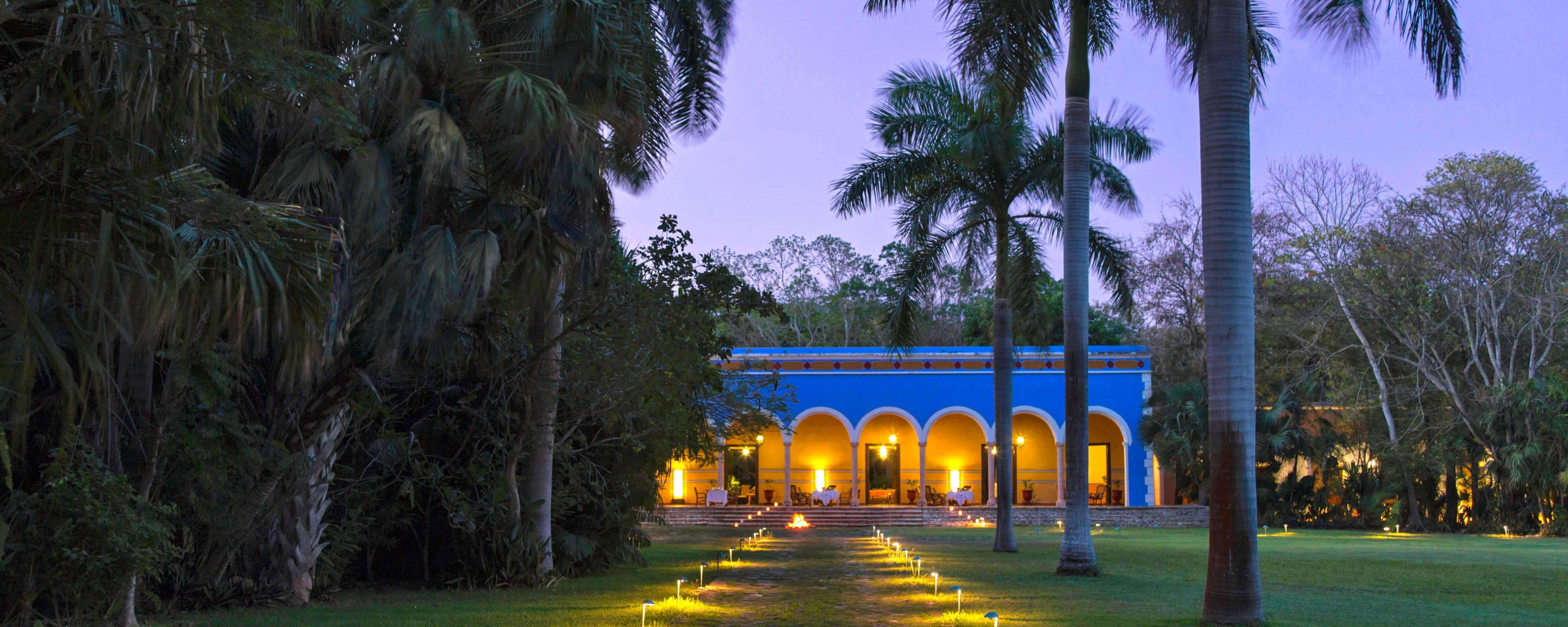 Hacienda Main Entrance