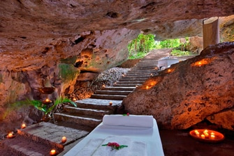 Spa cave