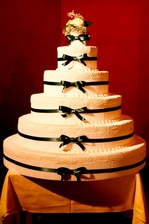 Wedding Cake at Milan Hotel
