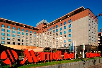 Fachada del Milan Marriott Hotel