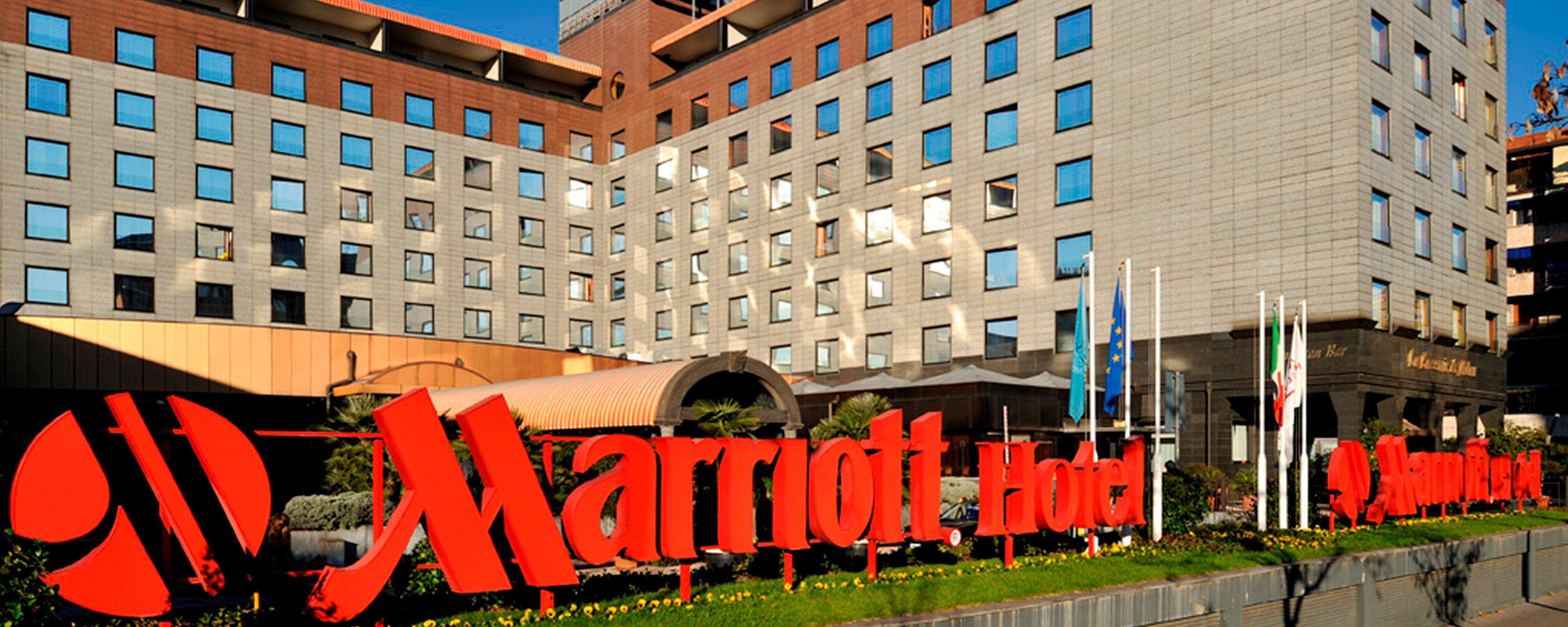 Milan City Center Hotel | Milan Marriott Hotel