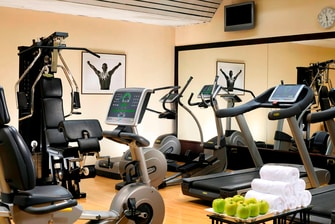 Gym in Milan Hotel
