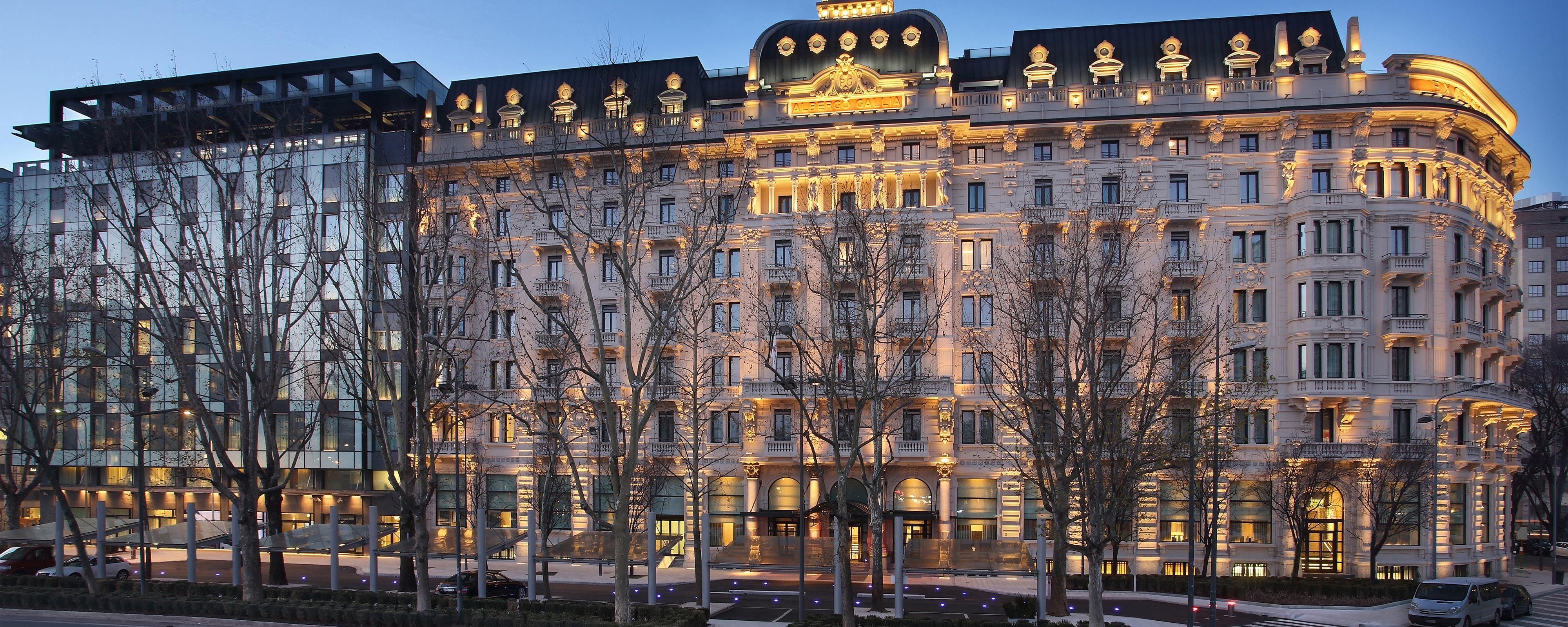 Luxury Hotels Resorts In Milan Excelsior Hotel Gallia A